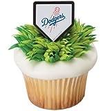 MLB Los Angeles Dodgers Cupcake Rings - 24 ct