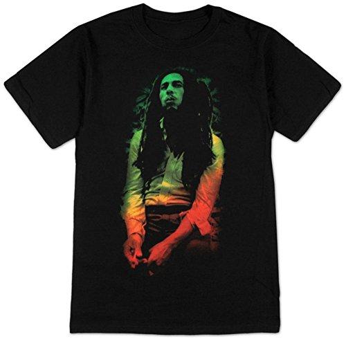 Bob Marley - Rasta Leaves T-Shirt Size XL