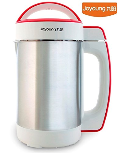 Bonus Pack: Joyoung Cts-1078s Easy-clean Automatic Hot Soy Milk Maker with Free Tofu Coagulant
