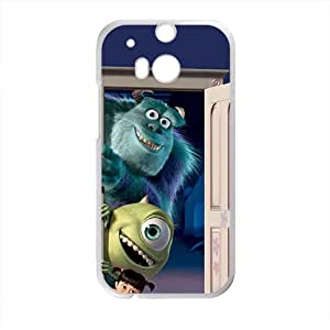 DASHUJUA Monsters Inc Case Cover For HTC M8 Case