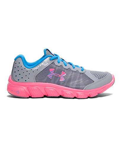 under-armour-girls-under-armour-girls-micro-g-assert-6-running-shoes-shoe-steel-electric-blue-65-med