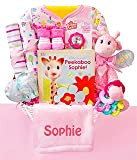 Wild About You | Personalized Baby Girl Gift Basket