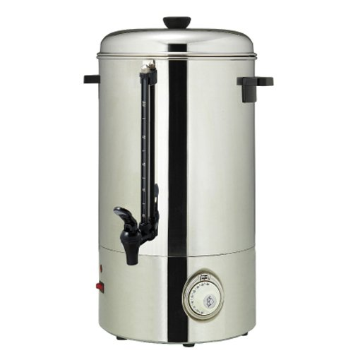 Magic Mill MUR100 Stainless Steel Hot Water Urn - 100 Cups