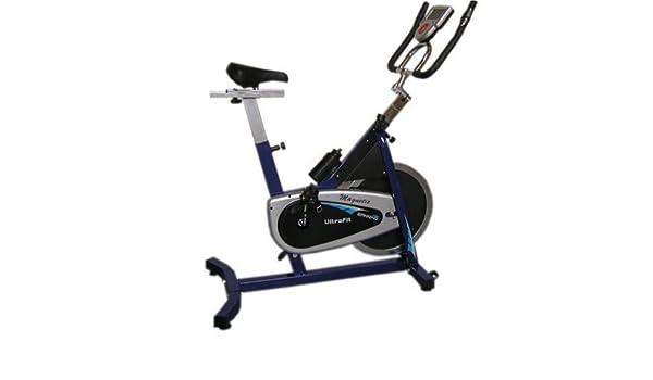 Rueda libre bicicleta Spinning magnética Ultrafit (E3366-SPM ...