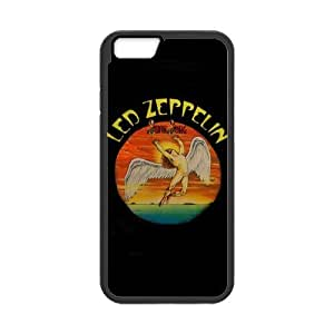 Classic Style Custom Silicone Hard Rubber Protector Case for iPhone6(4.7inch) - Led Zeppelin