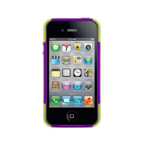SwitchEasy CapsuleRebelX Schutzhülle Limette x Lila für Apple iPhone 4/4S