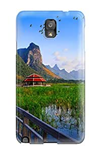 NltoXhT2065KpxfF ZippyDoritEduard Lake Bridge Thailand Holiday Wallpapers Durable Galaxy Note 3 Tpu Flexible Soft Case