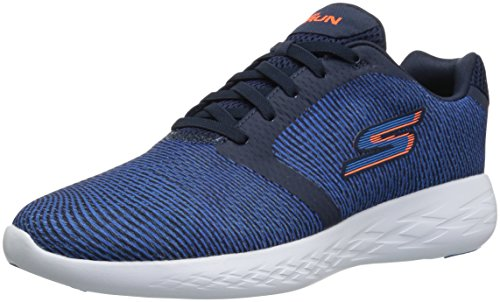 Skechers Performance Men's Go Run 600-55068 Sneaker,navy/blue,11.5 M US
