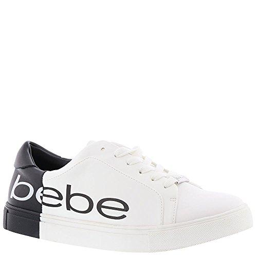 Charley Black Sneaker White Women's bebe Cqwgvx