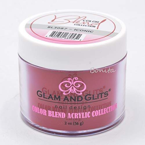 Glam & Glits Dipping Powder Color Blend Collection BL3087 Iconic 2 -