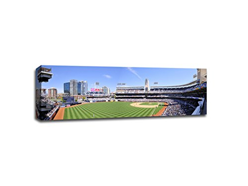 Petco Park - Baseball Field - 48x16 Gallery Wrapped Canvas Wall Art