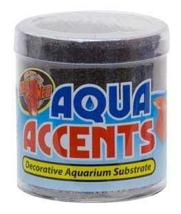 ZooMed Aqua Accents Midnight Black Sand 1/2 ()