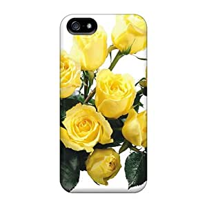 Snap-on Yellow Roses Cases Covers Skin Compatible With Iphone 5/5s