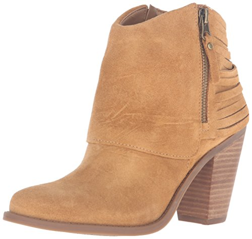 Cuffed Booties (Jessica Simpson Women's Cerrina Ankle Bootie, Honey Brown, 7.5 M US)