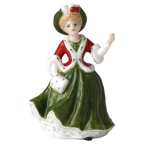 - Royal Doulton Miniature Pretty Ladies: Yuletide Memories