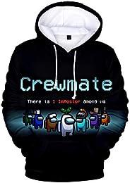 ANATYU Among Us 3D Printing Hoodie Sweatshirt Boy and Girl Casual Streetwear