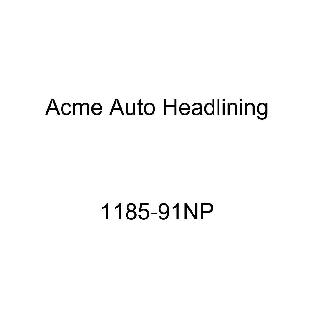 Acme Auto Headlining 1185-91NP Beige Replacement Headliner 1958 Buick Century 2 Door Riviera Hardtop 8 Bows