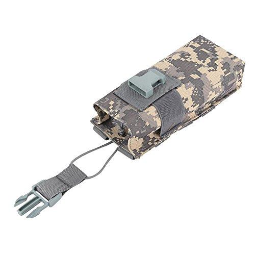 Bolso de la bolsa de la caldera de la radio de Molle, impermeable táctico ligero impermeable de nylon de la policía militar...
