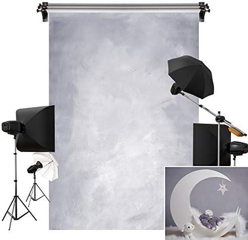 3X4FT-Dream Purple Lighting Photography Backdrops Moon Photo Studio Background