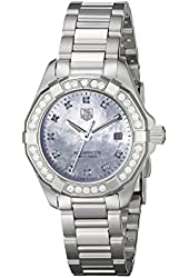 TAG Heuer Women's WAY1414.BA0920 Analog Display Quartz Silver Watch
