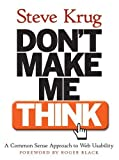 Don't Make Me Think!, Steve Krug, 0789723107