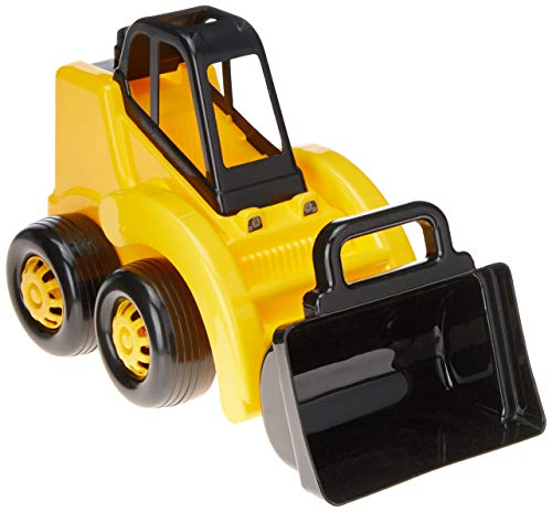 Escavadeira Mirim, Tilin Brinquedos, Amarela/preta, Pequeno