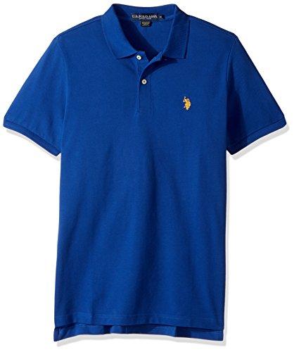 U.S. Polo Assn. Men's Classic Polo Shirt, Berry Bug Combo, M