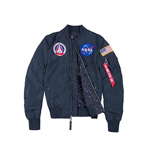 Alpha Rep Tt Jacket Nasa Ma blue 1 Reversible Wmn Industries Women rprwBF