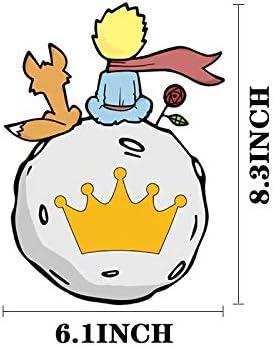 YGBV Dibujos Animados El Principito Transferencias de Calor Transferencias t/érmicas Pegatinas de Planchado de Vinilo Disfraces Parches t/érmicos Pacth para ni/ños