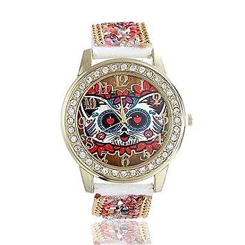 Relojes Hermosos, mujeres / reloj de manera de la señora linda perlas acrílicas especiales del