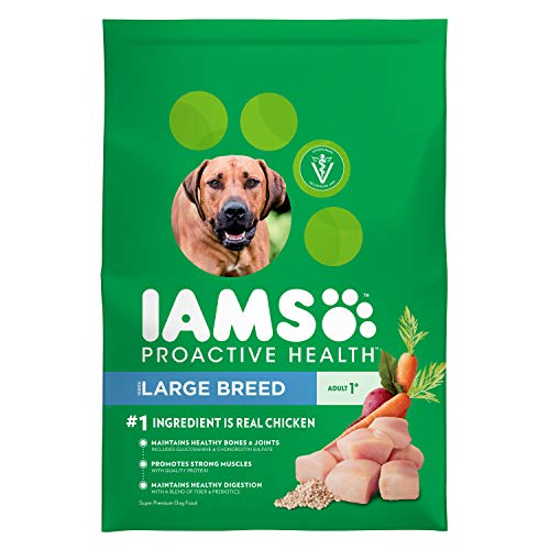 IAMS PROACTIVE HEALTH Adult Large Breed Dry Dog Food Chicken, 30 lb. Bag