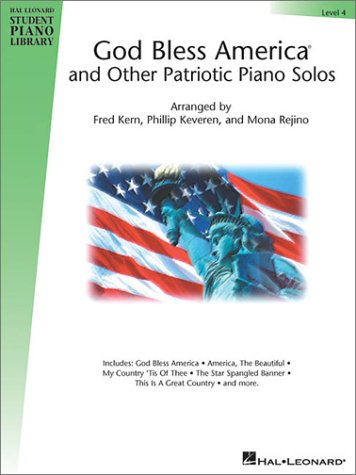 America Beautiful Piano Sheet Music (God Bless America and Other Patriotic Piano Solos - Level 4: Hal Leonard Student Piano Library National Federation of Music Clubs 2014-2016 Selection (Hal Leonard Student Piano Library (Songbooks)))