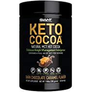 Giant Keto Cocoa - with MCTs for Low Carb Ketogenic and Paleo Diet, Gluten Free, 20 Servings (Dark Chocolate Caramel)