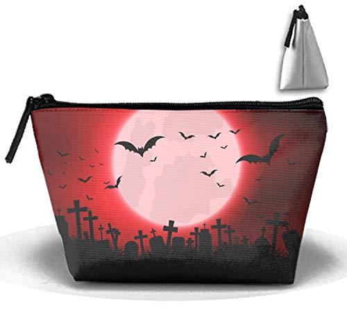 Halloween Evil Eyes Travel Toiletry Kit Multifunction Makeup Case ()