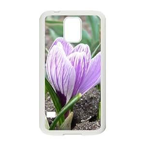Creative Phone Case Crocus For Samsung Galaxy S5 L568578