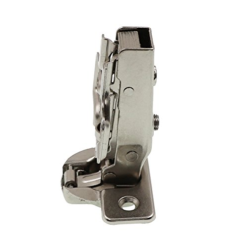 Full Overlay Concealed Frameless Cabinet Hinge - Soft Closing - Clip on Plate (50) by DecoBasics (Image #2)