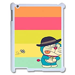 LSQDIY(R) Doraemon iPad2,3,4 Hard Back Case, Personalized iPad2,3,4 Case Doraemon