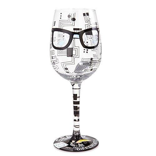 Lolita Glassware Geeks See Things Wine Glass (4054091), 9