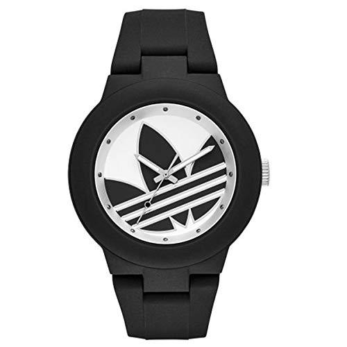 Cuarzo De Mujer Analogico Correa Reloj Para En Adidas Con Silicona 80wPnOk