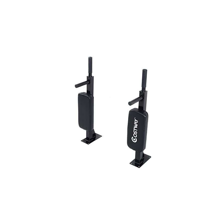 Goplus 2 Pull up Bar Chin up Station Wall Mounted Home Gym Exercise Workout Equipment (2 Pieces)