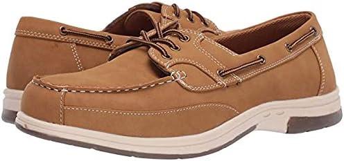 メンズスリッポン・ボートシューズ・靴 Mitch Boat Shoe Light Tan 28cm W (3E) [並行輸入品]