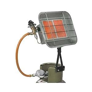 EUROM GS5000FM calefacción por infrarrojos hervidor Verbrenner calefacción gas