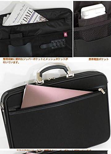 【日本製】オリジンソフトアタッシュケース 40cm フルオープンタイプ 使い勝手を考慮した内装仕様 国内正規品 +[栃木レザー] 日本製 キーストラップ