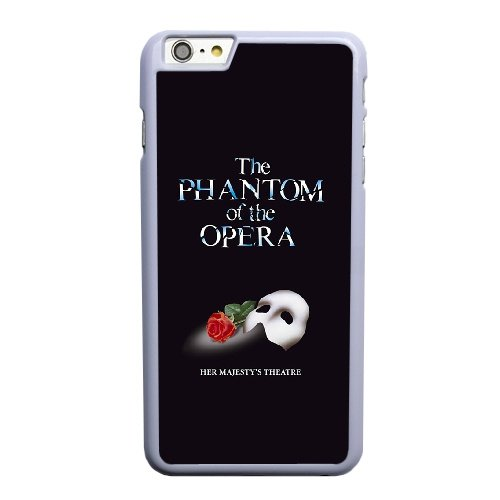 Coque,Coque iphone 6 6S 4.7 pouce Case Coque, The Phantom Of The Opera Cover For Coque iphone 6 6S 4.7 pouce Cell Phone Case Cover blanc