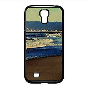 lintao diy Beach Nature 22 Watercolor style Cover Samsung Galaxy S4 I9500 Case (Beach Watercolor style Cover Samsung Galaxy S4 I9500 Case)