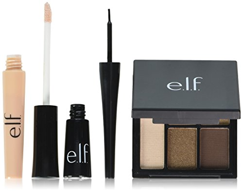 e.l.f. All About Eyes Eye Makeup, Sheer/Jet Black/Necessary
