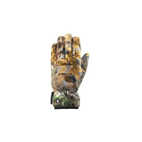 Seirus Innovation Men's Heatware Heatwave Camo Fleece Glove, Medium, Realtree Xtra