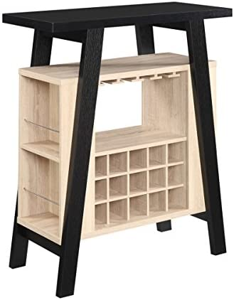 Weathered White Convenience Concepts Newport V Console
