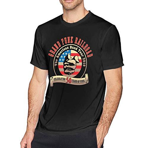 Grand Funk Railroad - Camiseta para hombre, color negro Color1 XXL