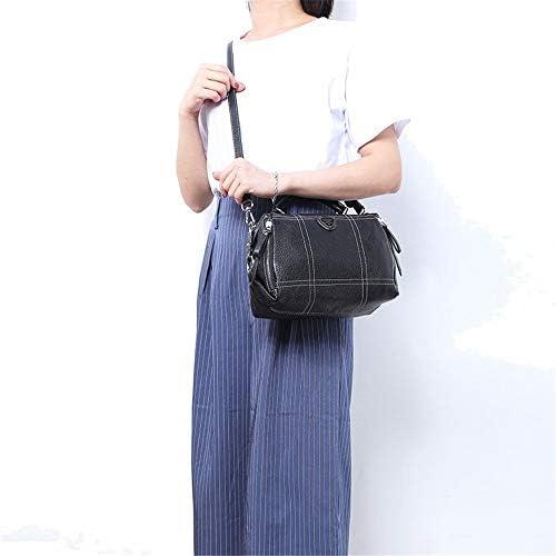 Damenhandtaschen Ladies 'Black Large-Kapazität Handtasche Simple Air Schultertasche Casual Diagonal Tote Bag Top Griff Tasche